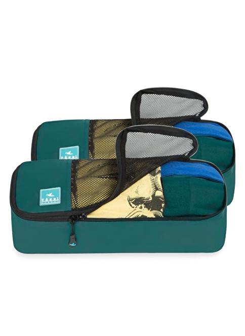 Fagel Travel 2Li Slim Set Yeşil